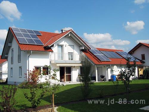 屋顶个人光伏电站成功并入电网,截至目前,合肥市家庭光伏发电项目突破