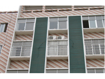 简析锌钢百叶窗六大特性