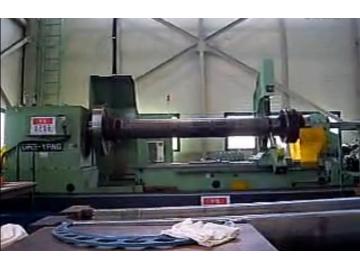加工风电主轴-数控深孔镗床加工视频 (489播放)