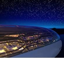 全球首架全透明飞机,你敢坐吗?